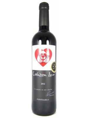 Iniesta Corazon Loco Tinto 2020 75cl