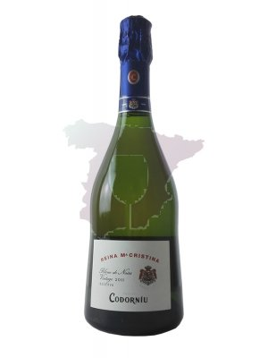 Cava Codorníu NPU Cuvée Reina Maria Cristina 2015 75cl