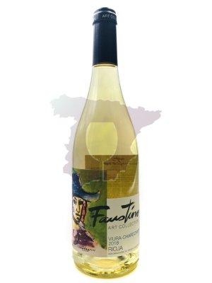 Faustino Viura Chardonnay Blanco 2018 75cl